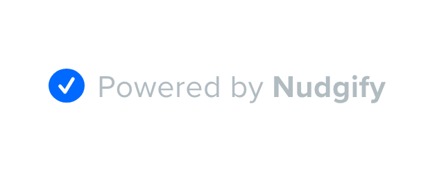 nudge label powered by