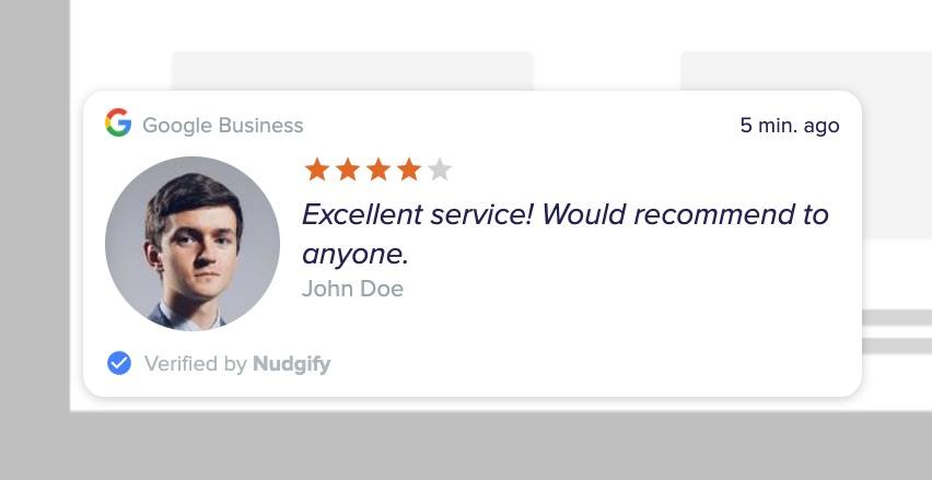 google reviews nudge