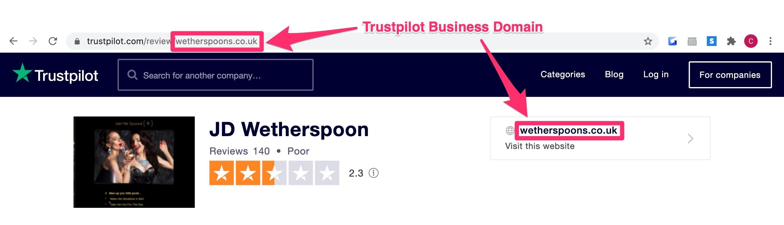 trustpilot social proof
