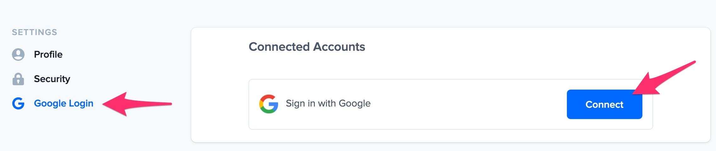 nudgify google login