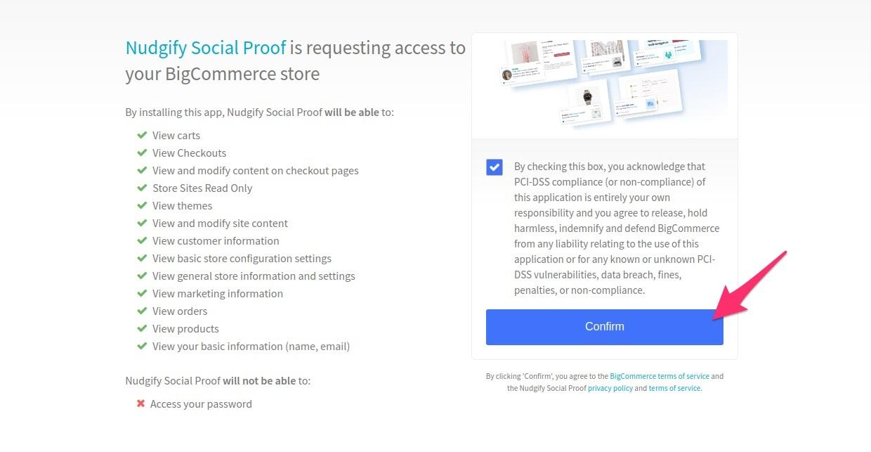 bigcommerce social proof