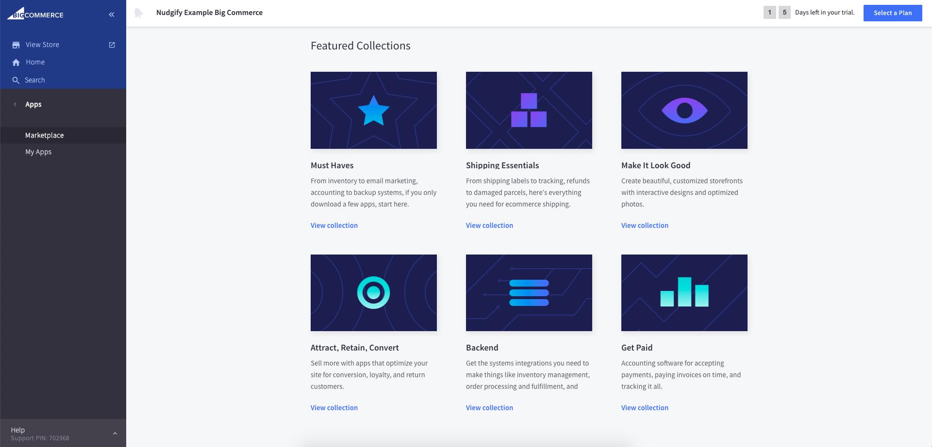ecommerce platform app store bigcommerce