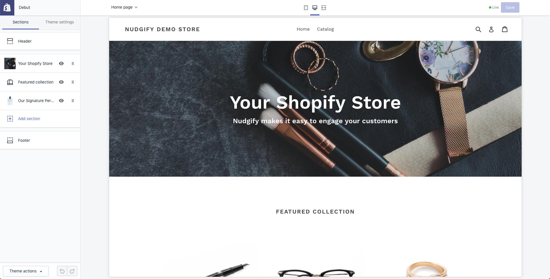ecommerce platform editor shopify