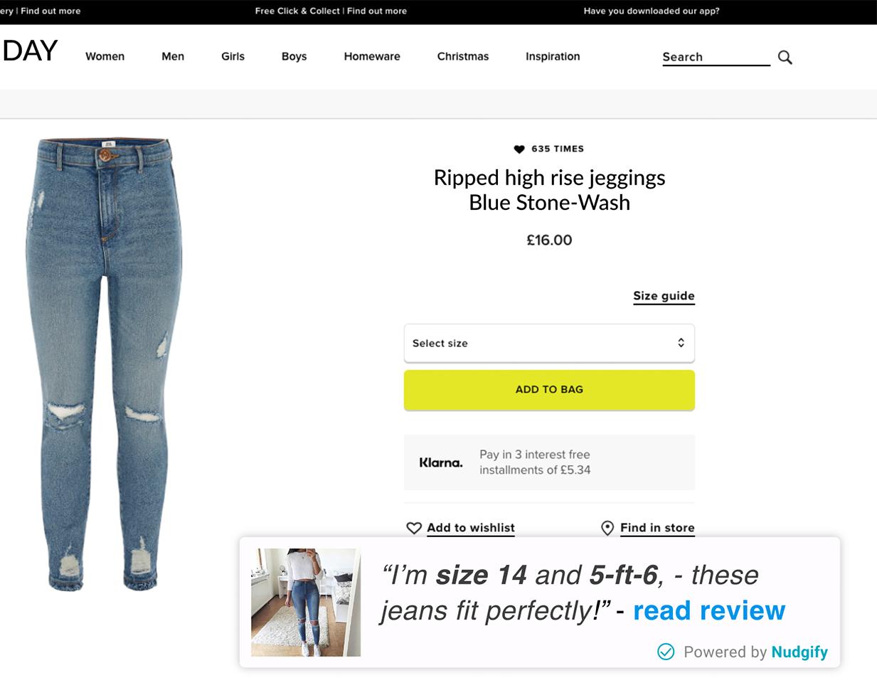 fashion ecommerce reduce returns