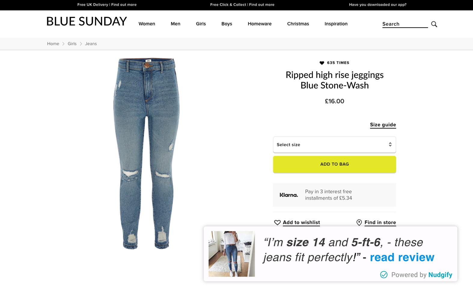 fashion retail reduce returns