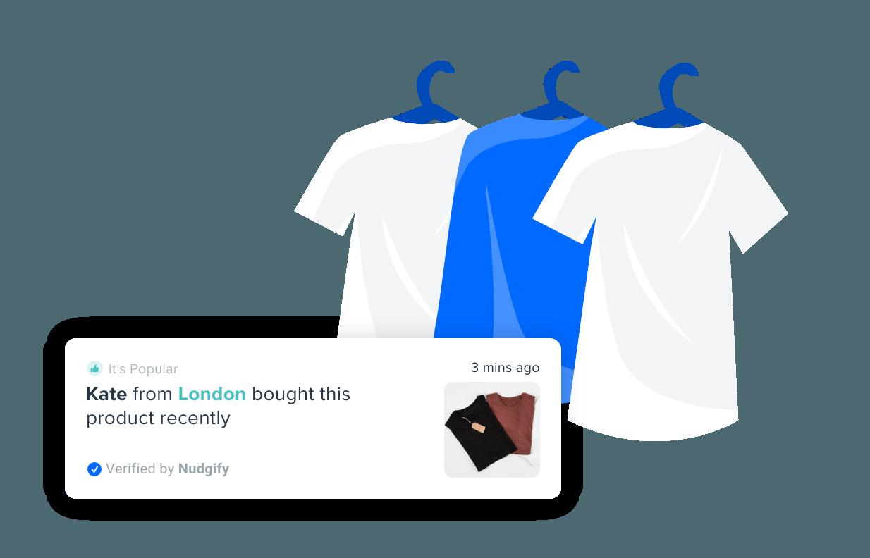 fashion ecommerce nudgify