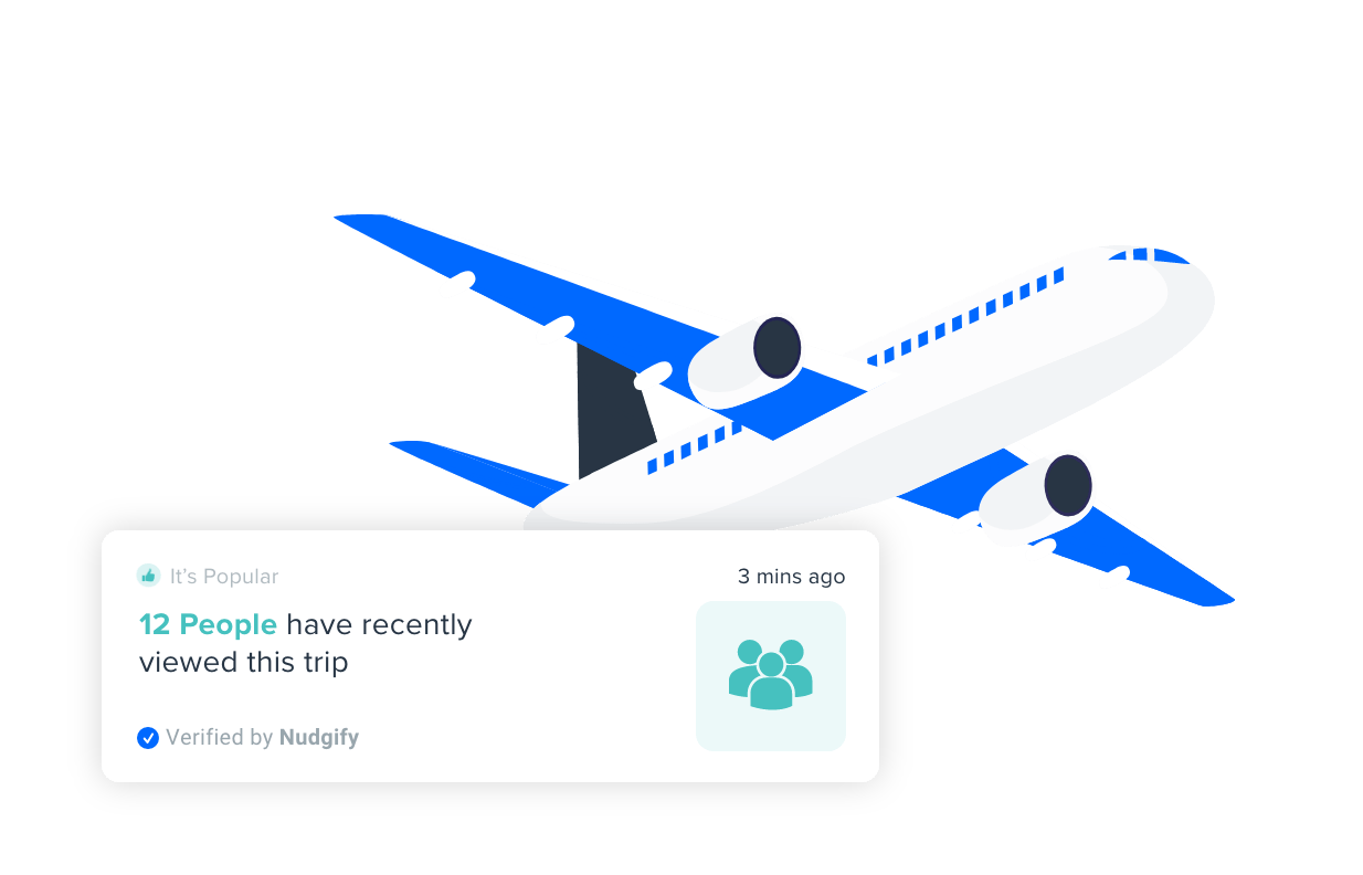 get more travel leads with nudgify