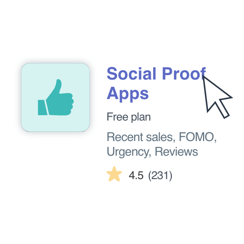 shopify social proof apps