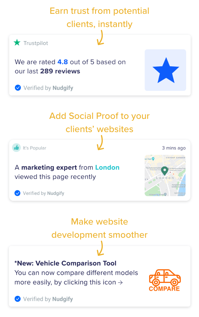 social proof app agencies