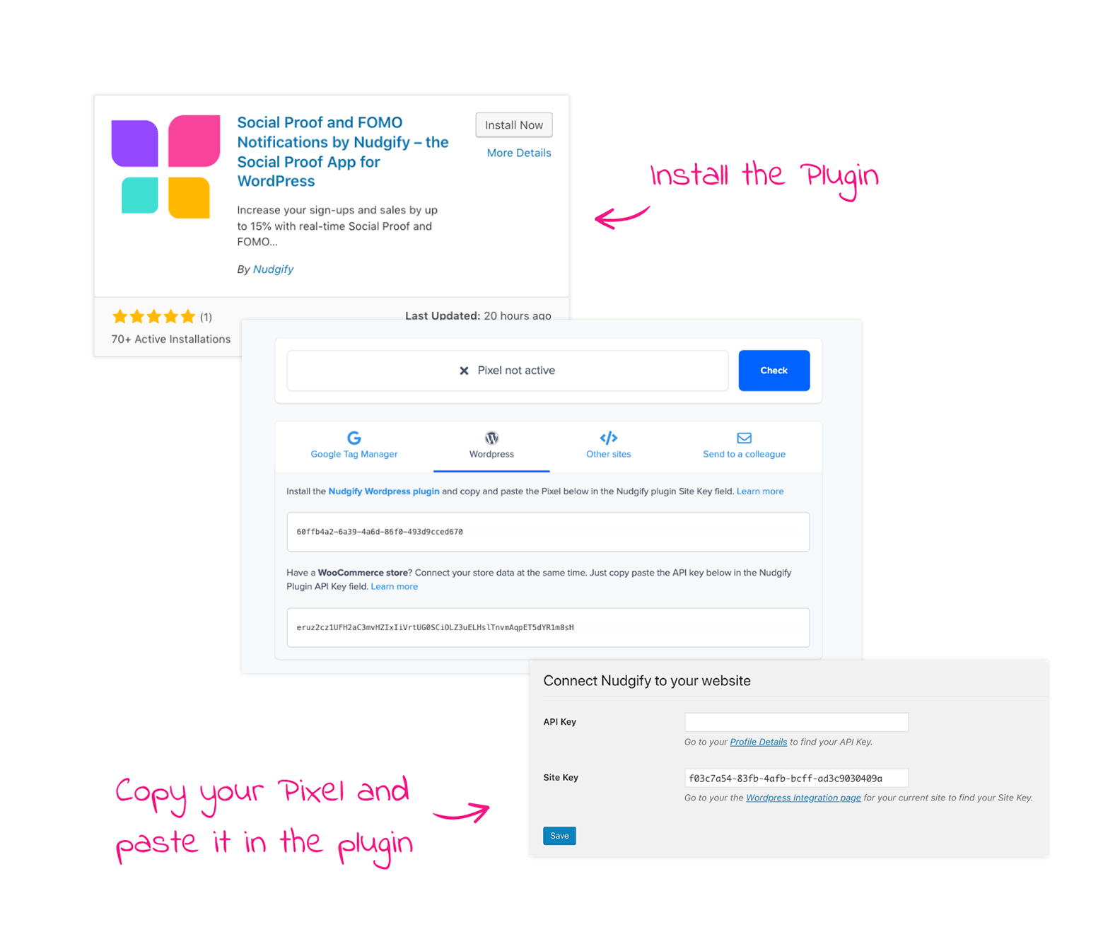 woocommerce social proof install