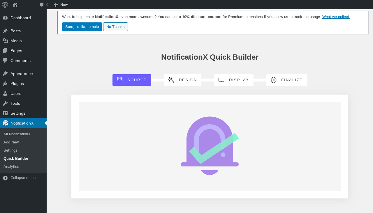 notification x wordpress plugin