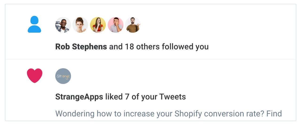 social proof saas twitter