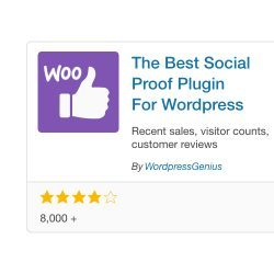 social proof for woocommerce and wordpress