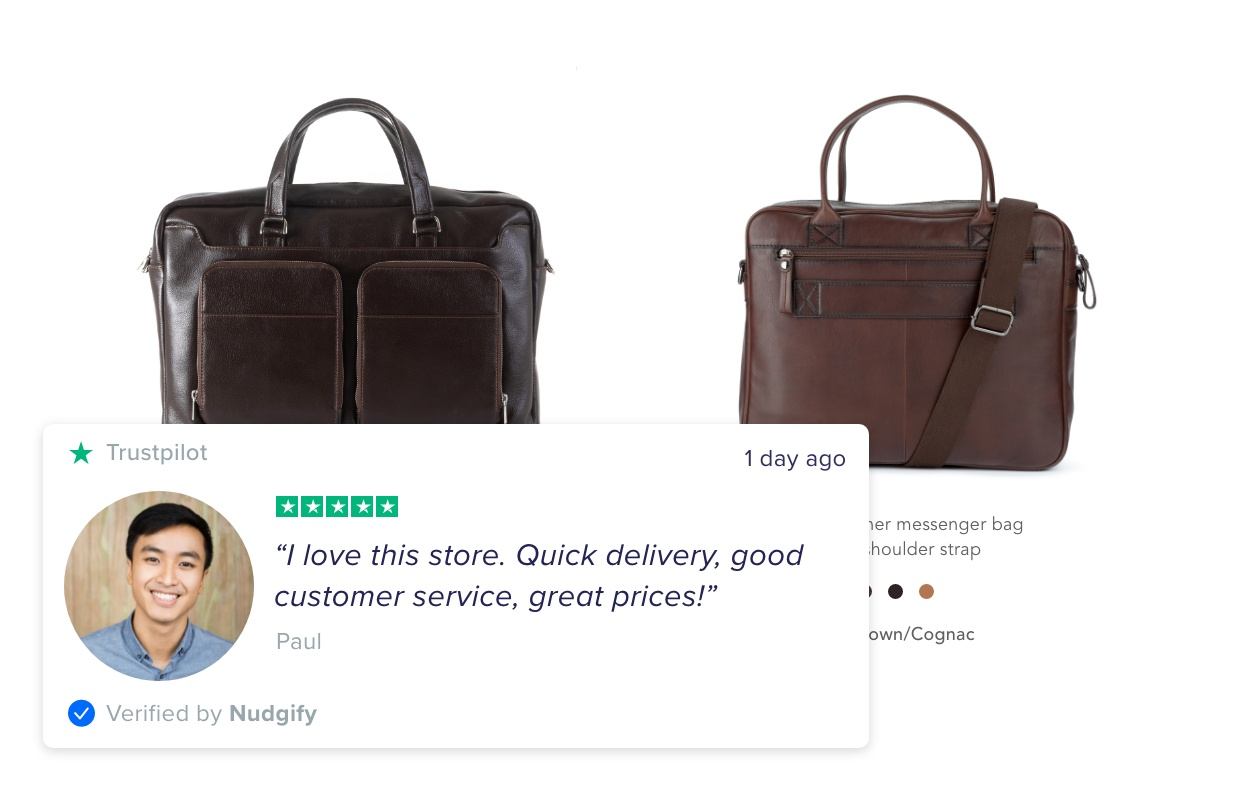 social proof review