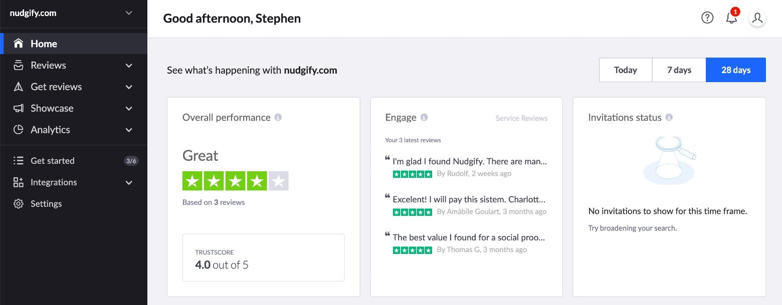 trustpilot reviews social proof