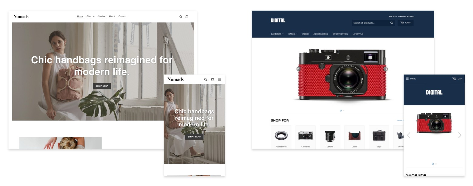 best theme shopify store