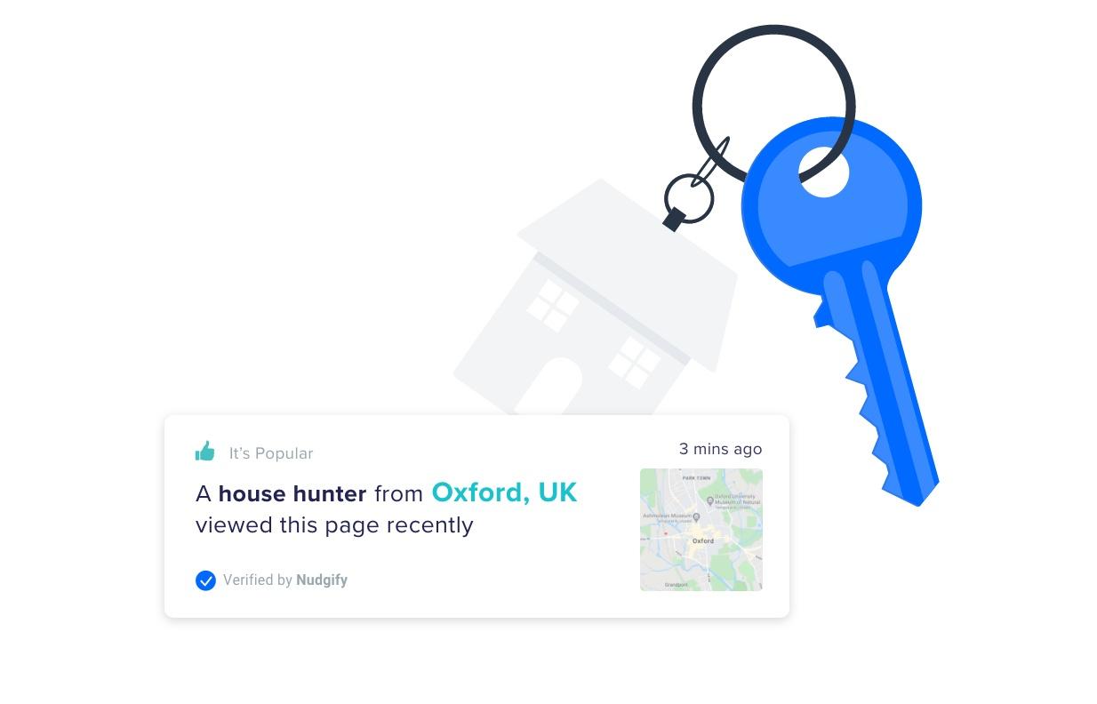 real estate marketing nudgify